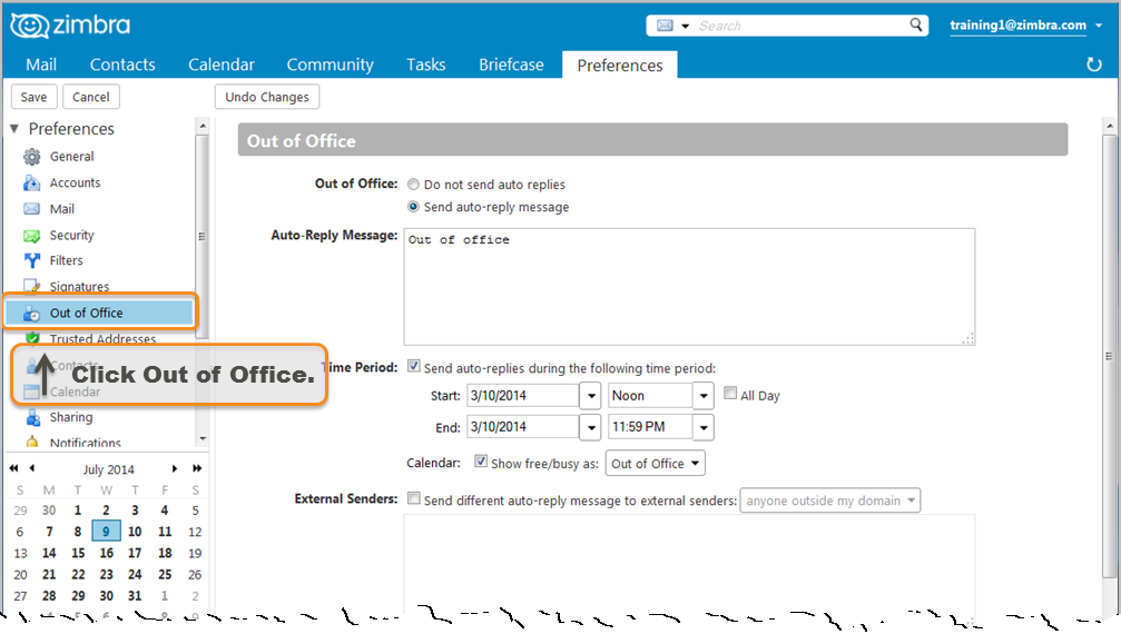 Did You Know Out Of Office Messages Zimbra Blog